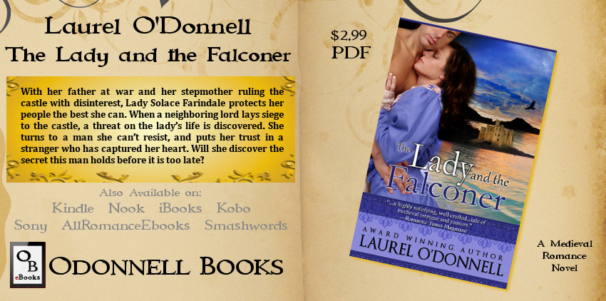 The Lady and the Falconer by Laurel O'Donnell PDF
