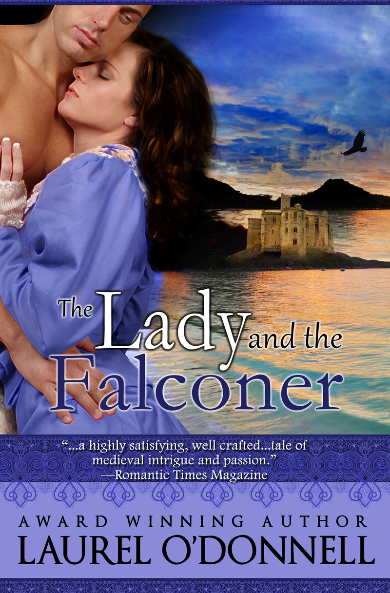 The Lady and the Falconer by Laurel O'Donnell - a medieval romance novel
