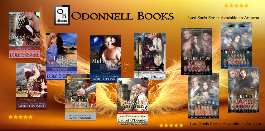 ODONNELL BOOKS welcome logo